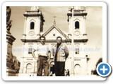 Pedro Bento e Zé da Estrada antiga Matriz Aparecida do Norte