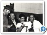 Pedro Bento e Zé da Estrada e Celinho com empresário Geraldo Libarti