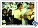 Roberto e Meirinho participando do Filme O Menino da Porteira com Sérgio Reis em 1978 - 02